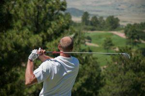 ゴルフ,椎間板ヘルニア